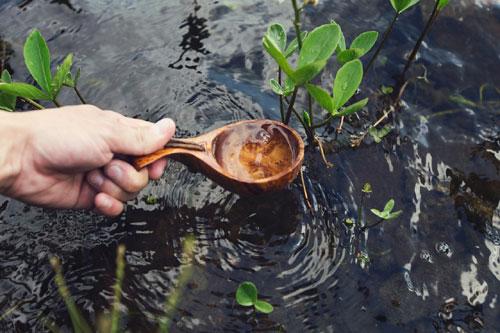 Quellfrisches Wasser
