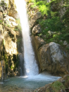 Traumhaft schöner Wasserfall