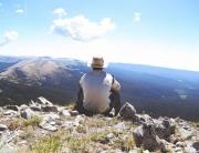 Felsen und Bergkuppen zeigen uns unsere Vergänglichkeit