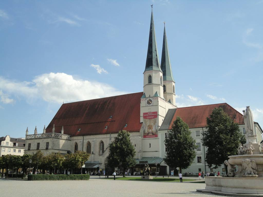 Altötting, bekannter Wallfahrtsort in Oberbayern