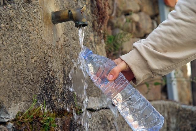 Heilwasser und Quellwasser zur freien Entnahme