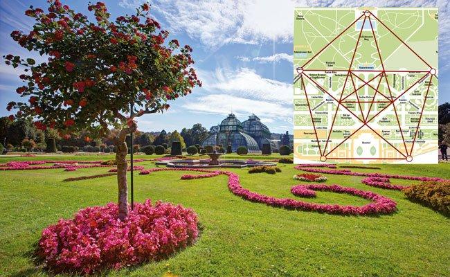 Wien Schlosspark Schönbrunn; Foto: Vienna.at