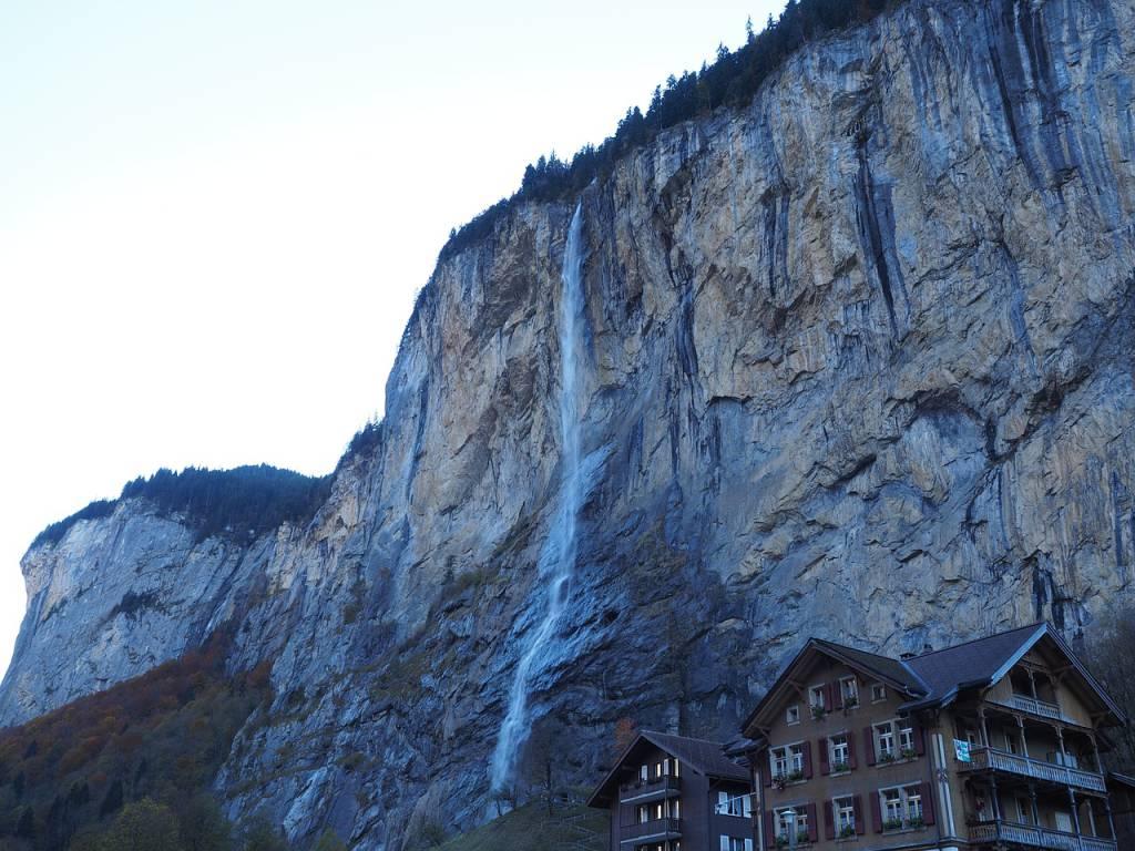 Staubachfall in der Schweiz