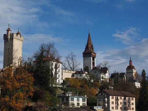 Kraftplätze finden sich auch in Städten. Foto: Luzern