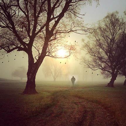 Spaziergang in der Zeit der Rauhnächte