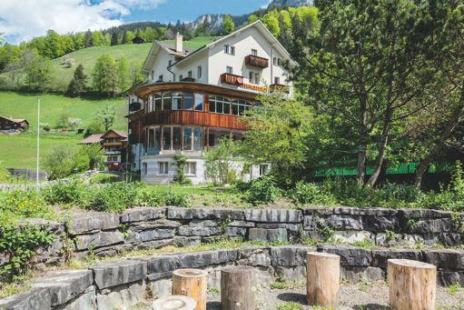 Kientalerhof: Haus mit Feuerstelle