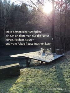 Kraftplatz Natur