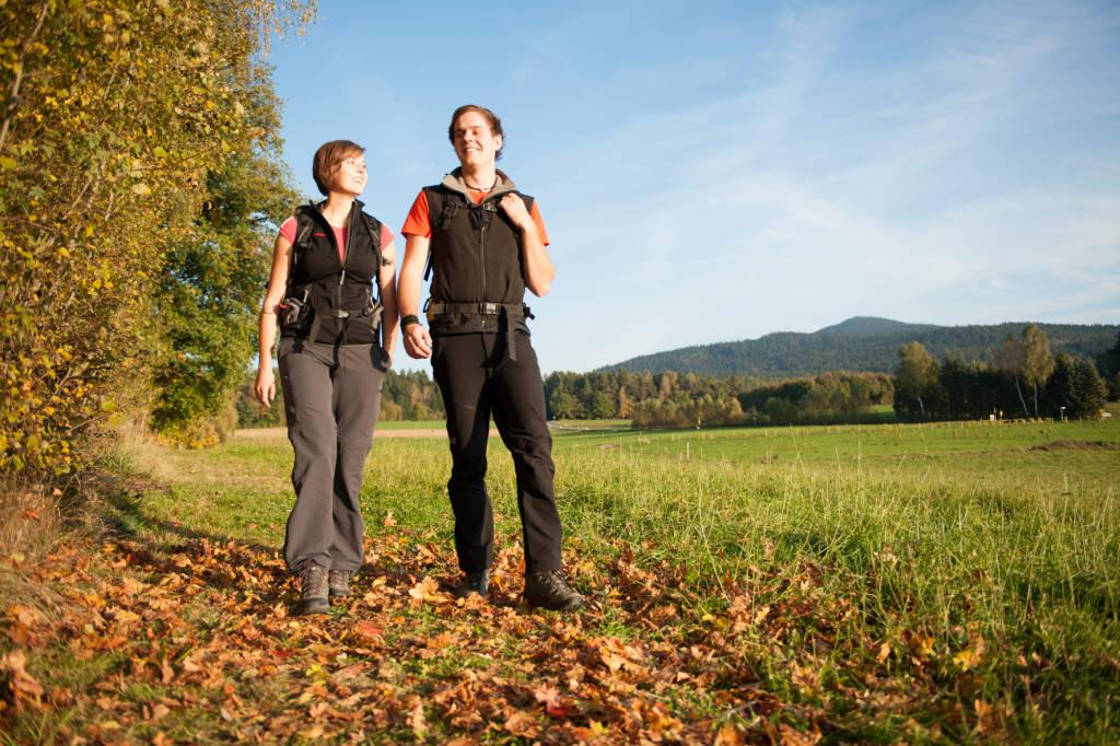 Auf gut markierten Wanderwegen kann die Umgebung erwandert und erkundet werden